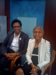 "Ginger Rutland and her mother, author Eva Rutland appear on Channel 30 book discussion program ""In a Word."""