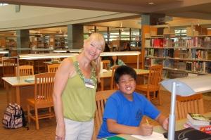 Homework Help Coordinator, Marianne Seiler