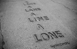 a lane haiku