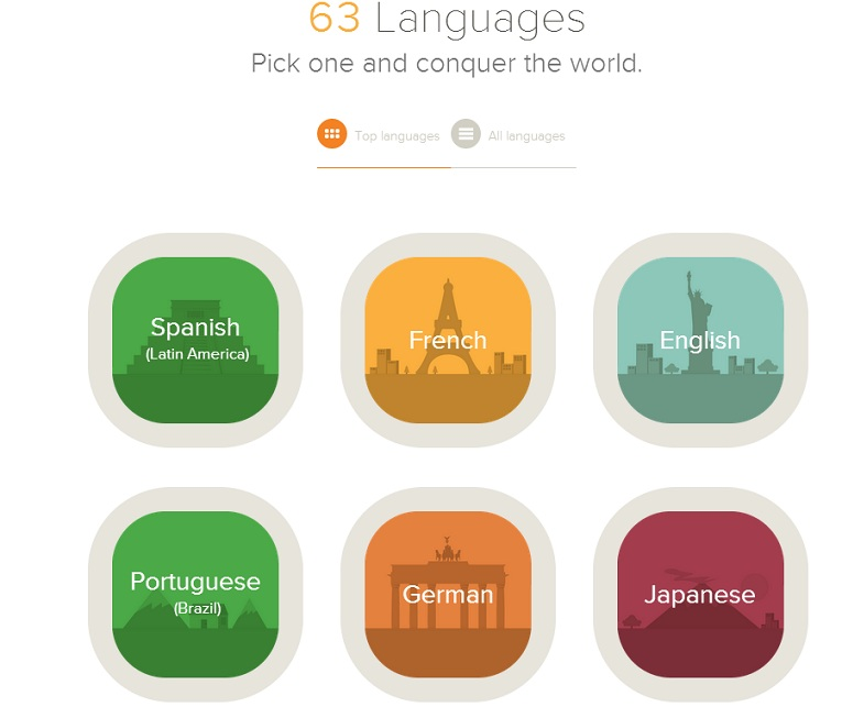 Learn a new languages with Mango Languages