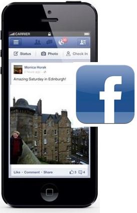 facebook app photo