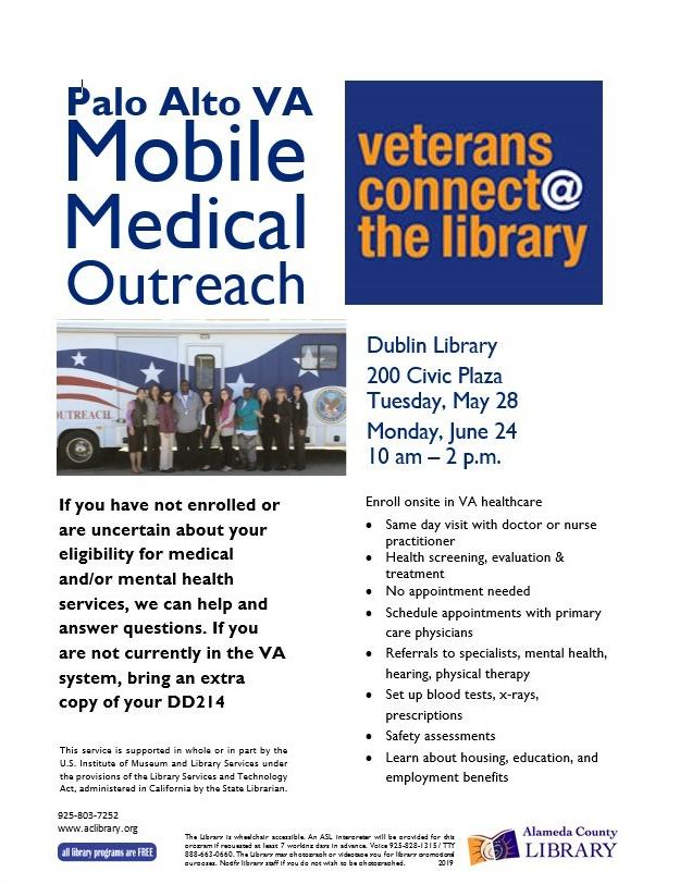 Palo Alto VA Mobile Medical Van for FB